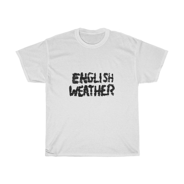 English Weather Unisex T-Shirt (White)