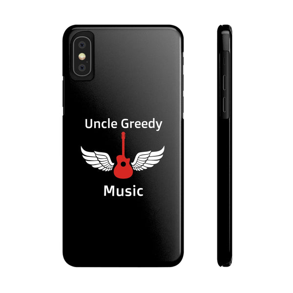 Uncle Greedy iPhone Case