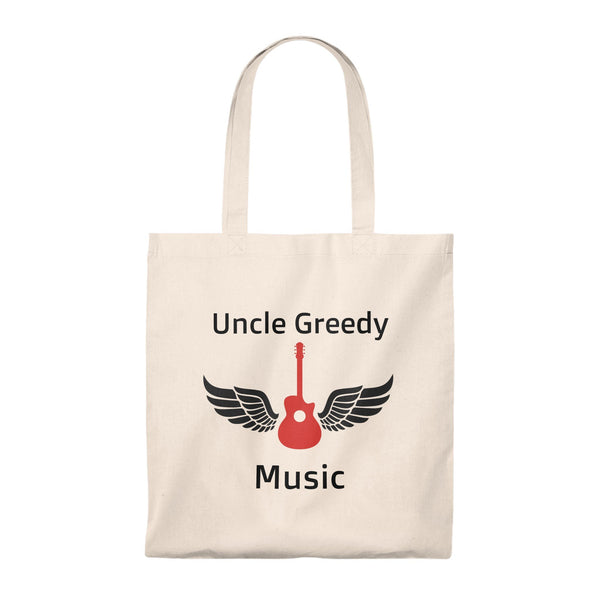 Uncle Greedy Tote Bag