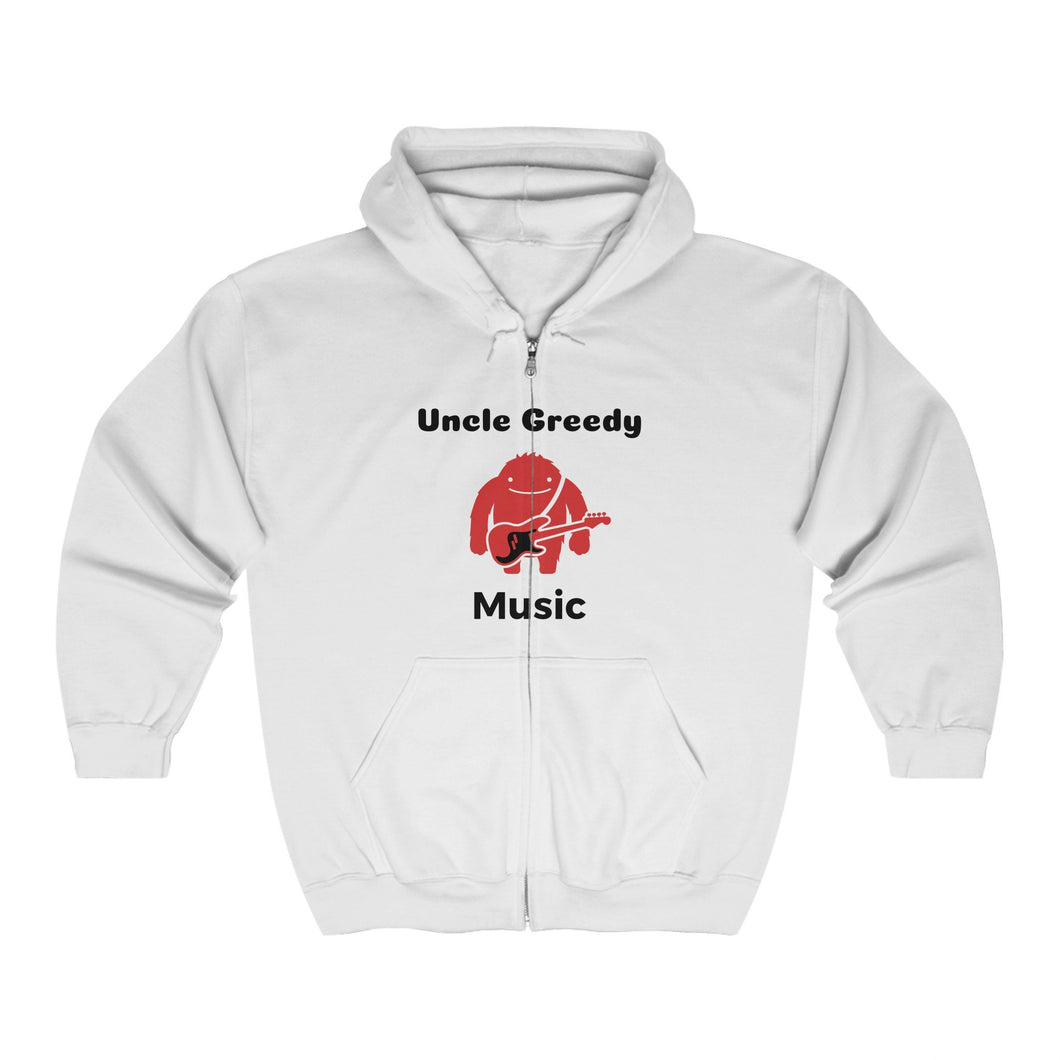 Uncle Greedy Zip Up Hoodie 2