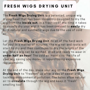 Fresh Wigs Drying Unit - Only use with cold air