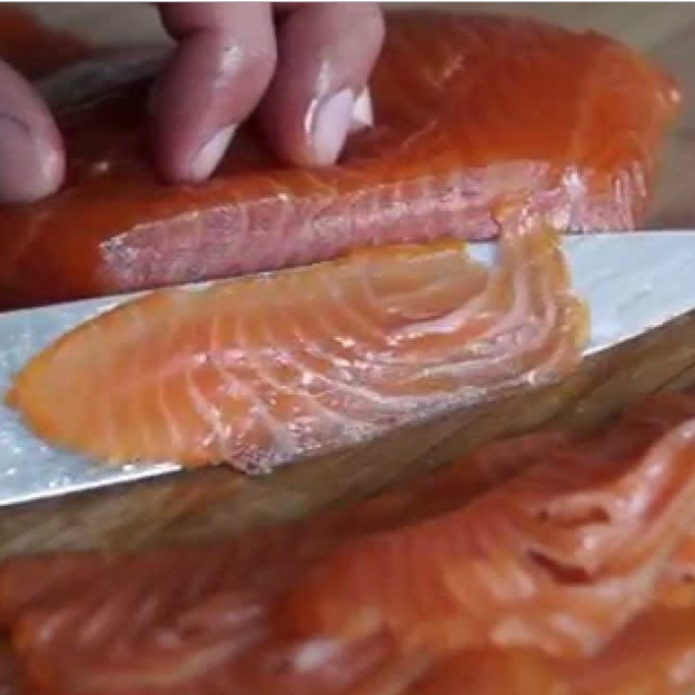 Salty Sliced Belly Lox- 4oz