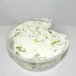 """So Good You'll Want to Eat it With a Spoon"" Scallion Cream Cheese - 8oz"