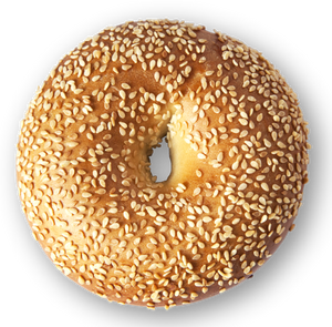 Sesame Bagel - 3 Pack