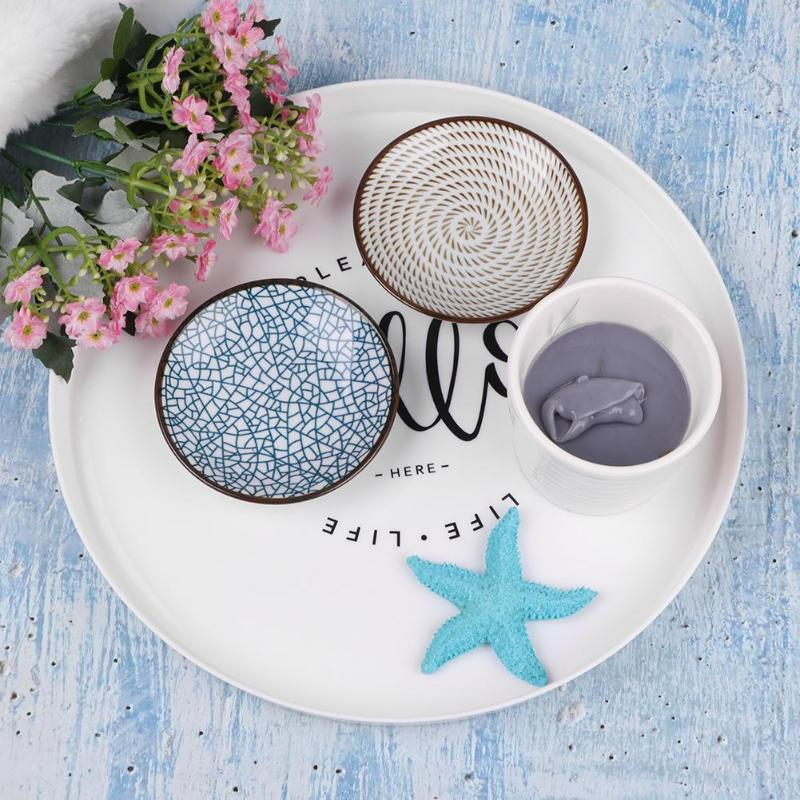 Outstanding Nordic Style Plastic Round Breakfast Tray Food Buyittoyourself Machost Co Dining Chair Design Ideas Machostcouk