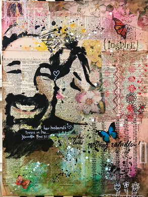 Mixed Media Photo Transfer