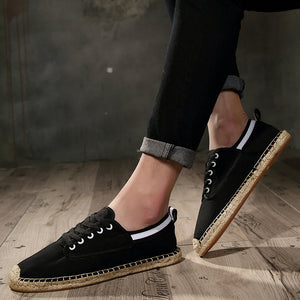 Men Breathbale linen Shoes