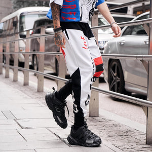 2019 Mens Casual Colorful Thin Pants