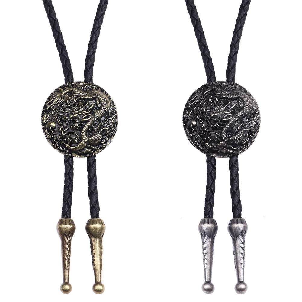 men dragon necklace