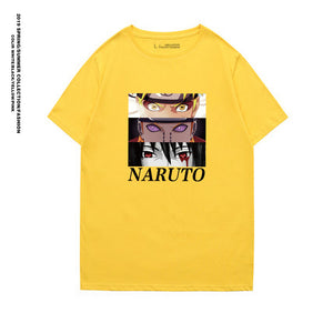 Naruto T-shirt Harajuku Cool Unisex Short Sleeve t shirt