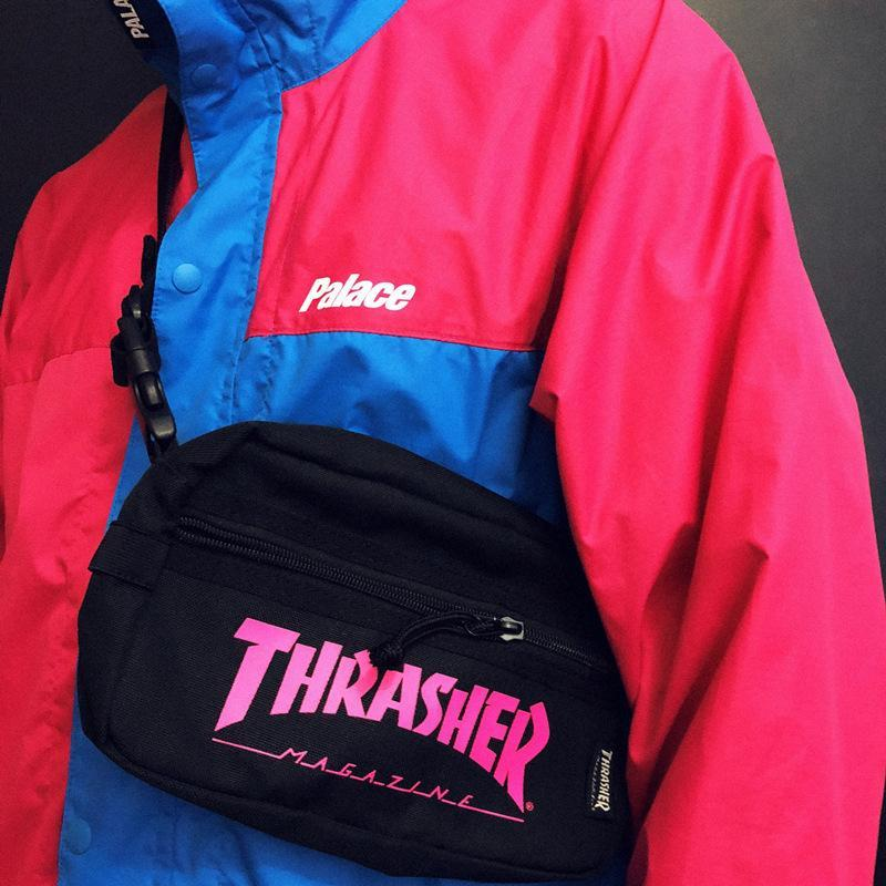 Unisex thrasher shoulder bag