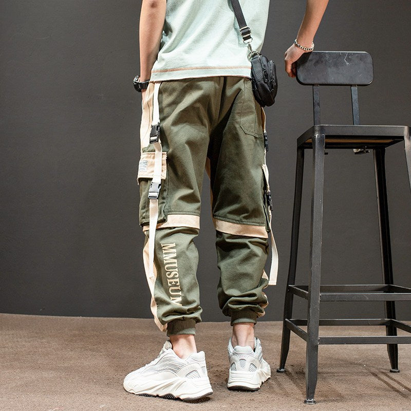 men  trend hip hop tide brand pants