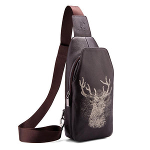 Men Deer printed Bag - freakichic