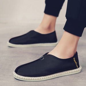 Men's chinese styles canvas wild casual shoes