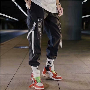 2019 Multi-pocket Harem Hip Pop Pants Trousers