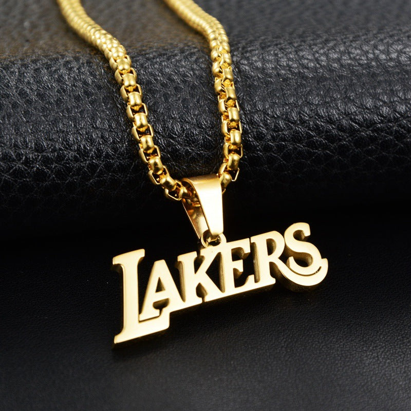 Unisex Lakes Logo Necklace