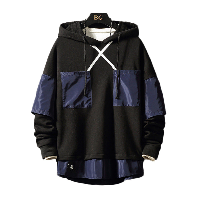 Men Print Fashion Casual Hip Hop Hoodies