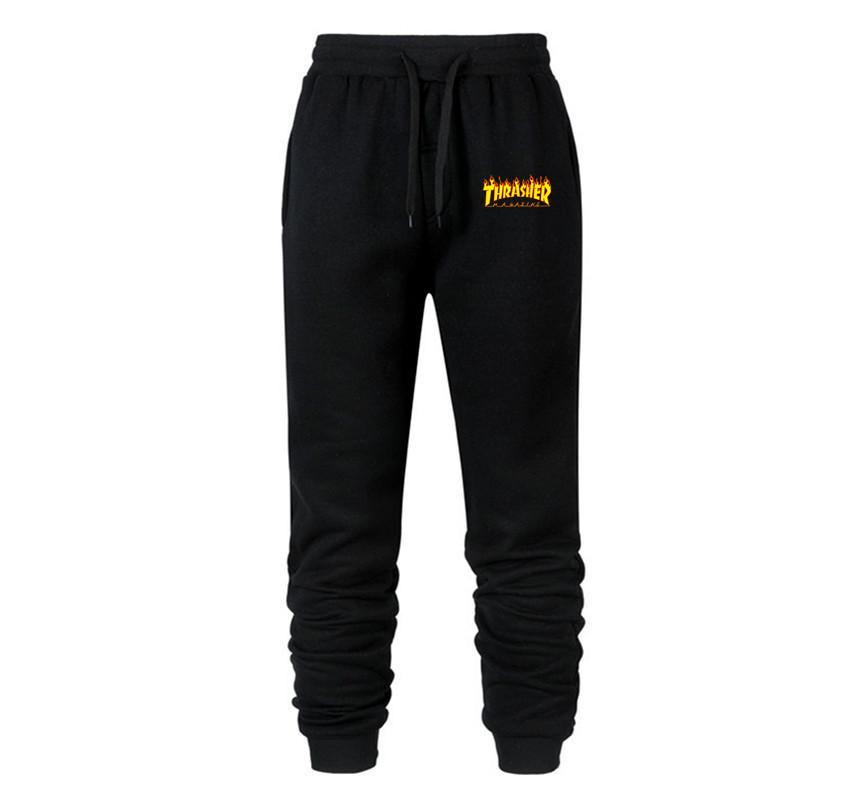 Yellow Thrasher Pant Unisex Skateboard Sweatpants