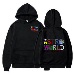 ASTROWORLD Look Mom I Can Fly Printed HOODIES