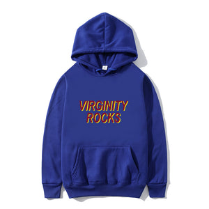 Red Virginity-Rocks Sweatshirts Virginity-Rocks Hoodie Athletic Hoodies Pullover