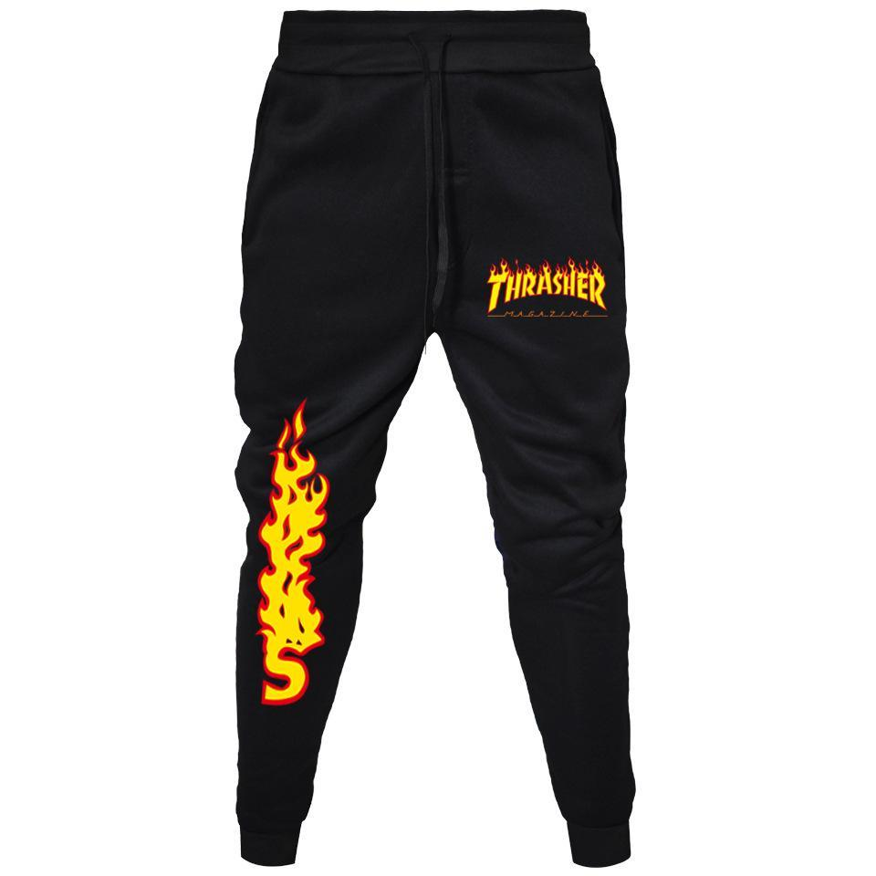 Thrasher Skate and Destroy Sweatpants Unisex Skateboard Sweatpants