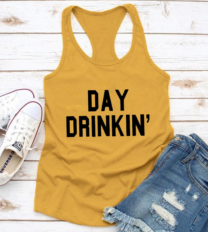 Day Drinking Crop Top