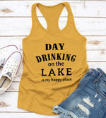 Day Drinking On The Lake Casual Crop Top