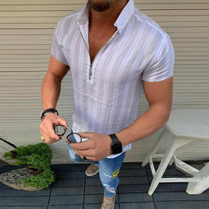 Men's Casual Short-Sleeved Shirt