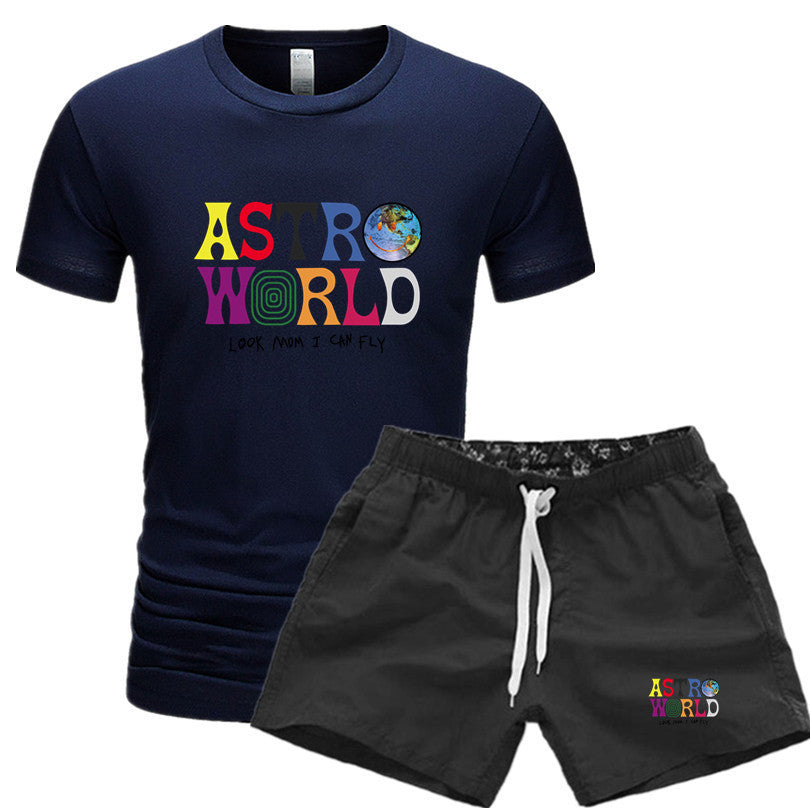 Travis Scott Astroworld Set Unisex Travis Scott  Shirts and Pants