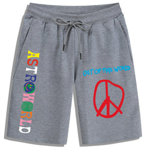 Travis Scott Astroworld Sweatpants Travis Scott Astroworld Jogger Out Of This world Shorts