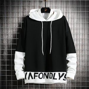Men Harajuku Pullover Men Fashion Hip hop hoodies