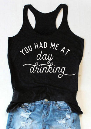 You Had Me At Day Drinking Crop Top