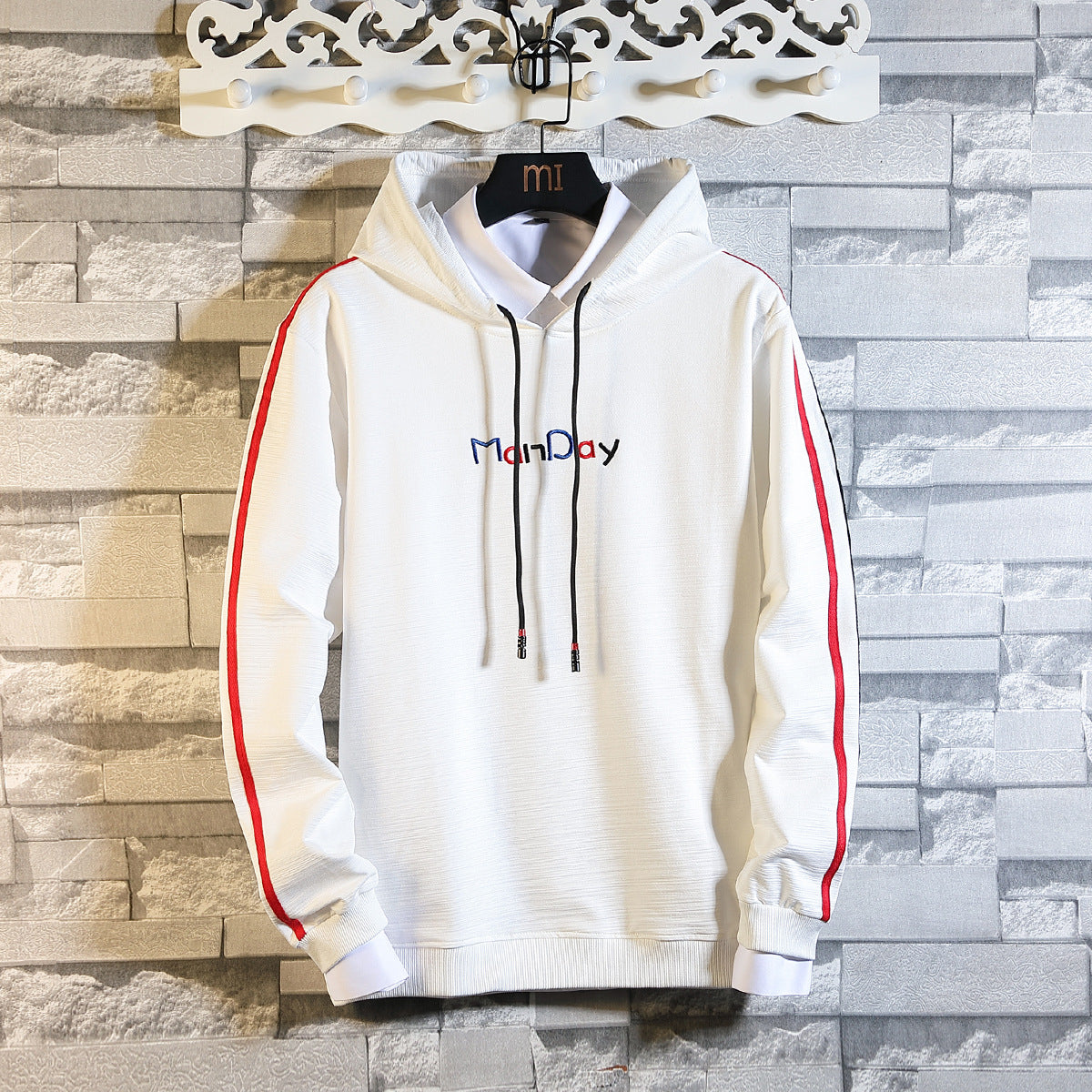 Men Streetwear Hoodie Man Day Printed Hoodies