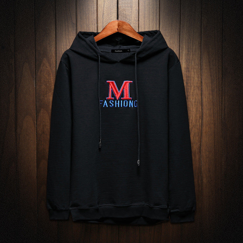 M Fashion Printed Hoodies Men Streetwear Hoodie