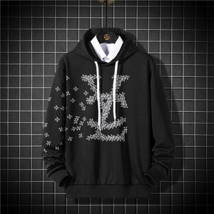 Men's Hoodies Men YZ Printed Harajuku Pullover