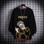 Black Men Hoodie Men PDboy Printed sweatshirt