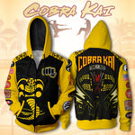 Cobra Kai Hoodie Strike First Sweatshirt