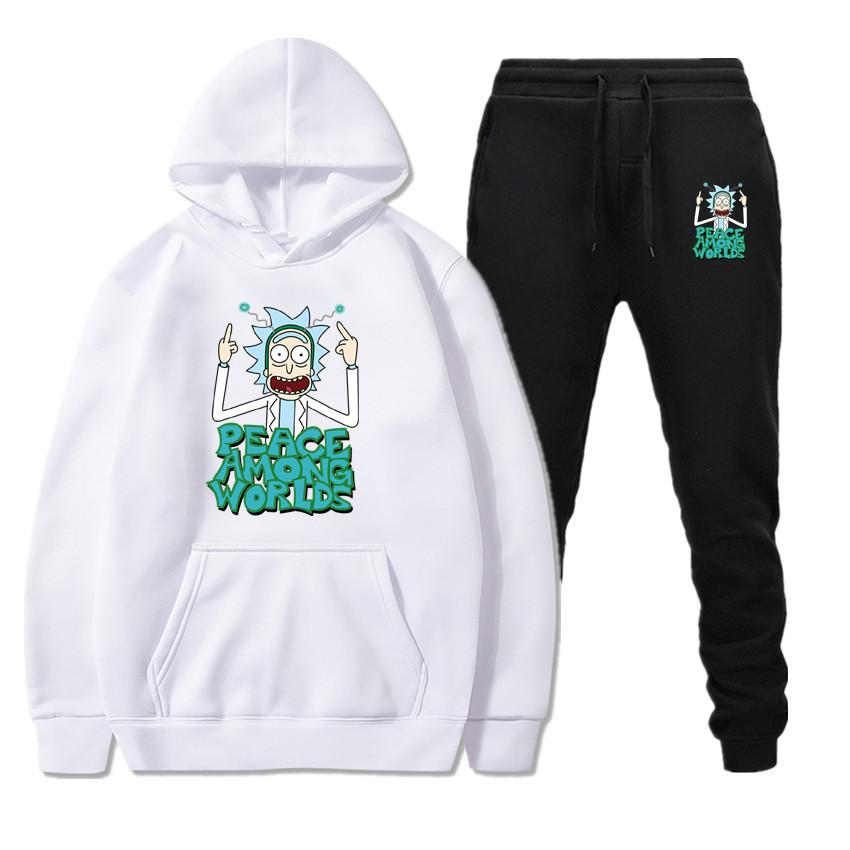Men Tracksuit Rick And Morty Peace Among Worlds Set