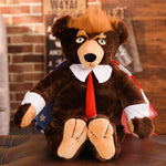 Trump Bear Plush Toys New Cool Bear