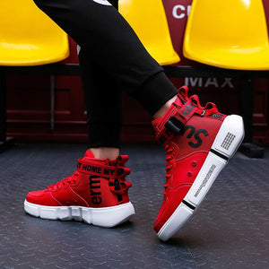 Men's High Top Leisure Sports Running Shoes