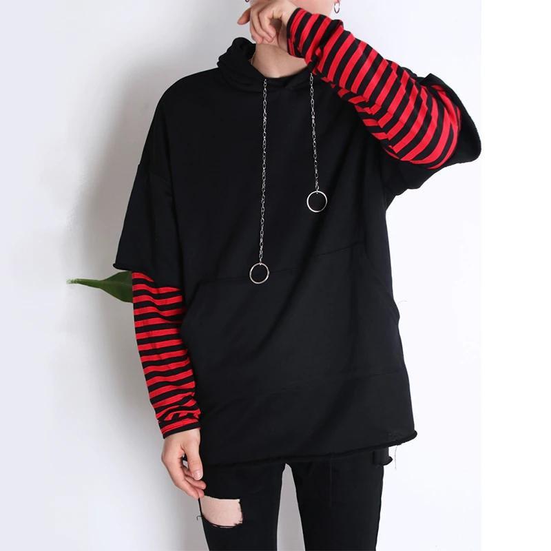 stripe Camouflage Men's Hoodies