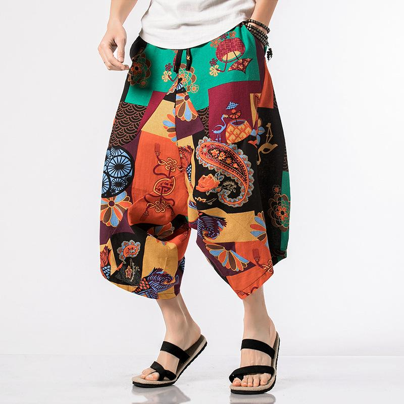 Nepalese seven-point pants low-end Harlan casual pants