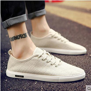Summer men's canvas shoes linen shoes