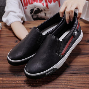 Men Shoes Super Soft PU Leather Casual Flats