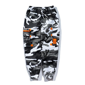 Stylish Men Pants Camo Print Cotton Casual Pants