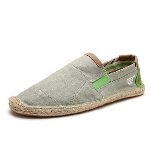 Fisherman Linen slip-on Flat Heel Men's Shoes