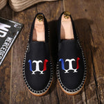 Original embroidered casual linen shoes