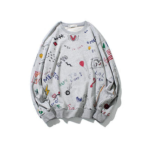 Streetwear Hoodies Men 3D Print Sweatshirts