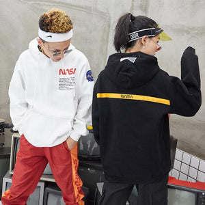 Men NASA Sweatshirt Jacket - freakichic