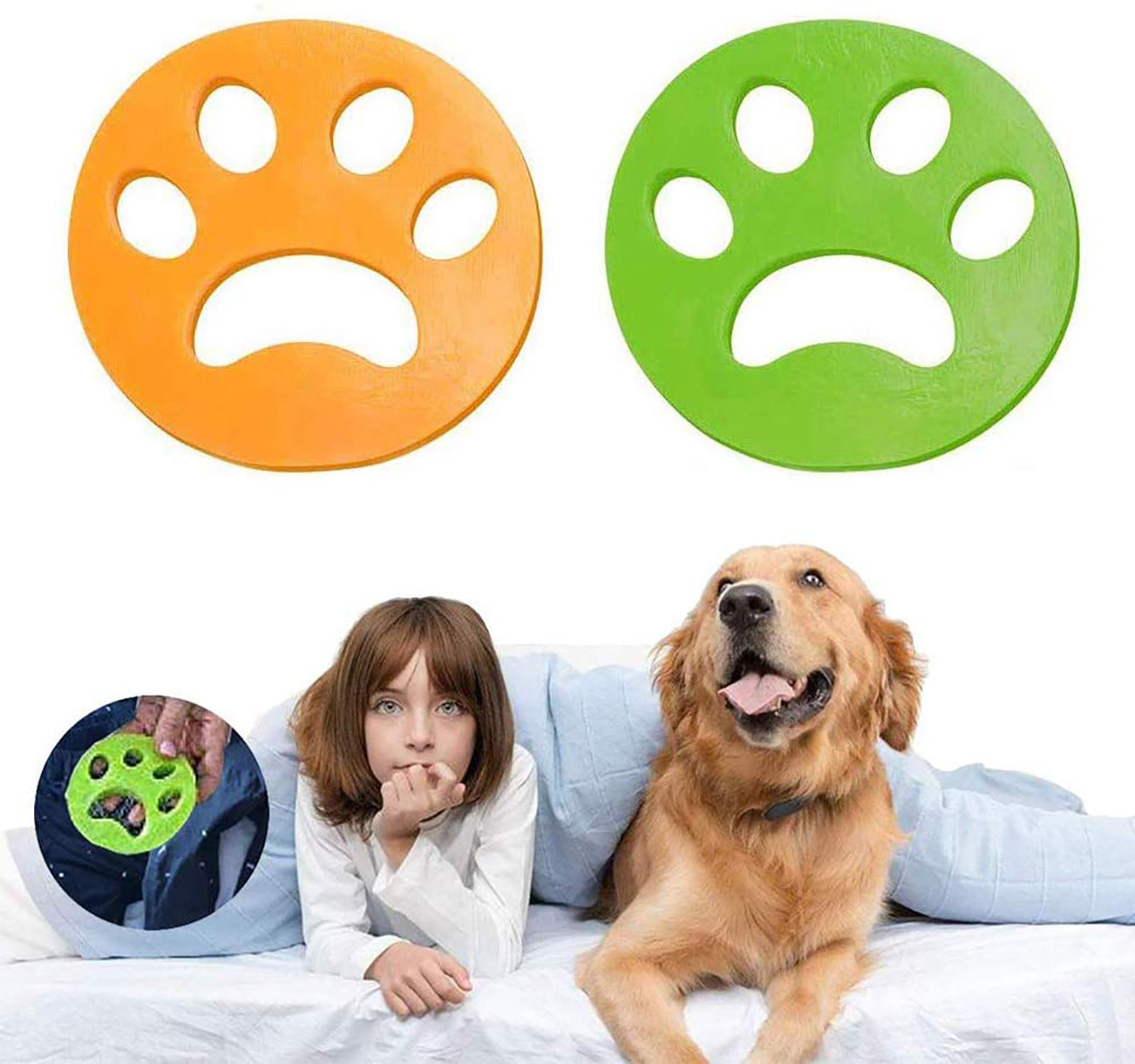 FurZapper Pet Hair Remover for Laundry